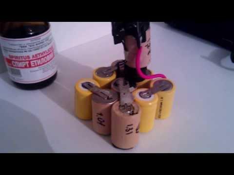 Ремонт батарейки шуруповерта своими руками 8
