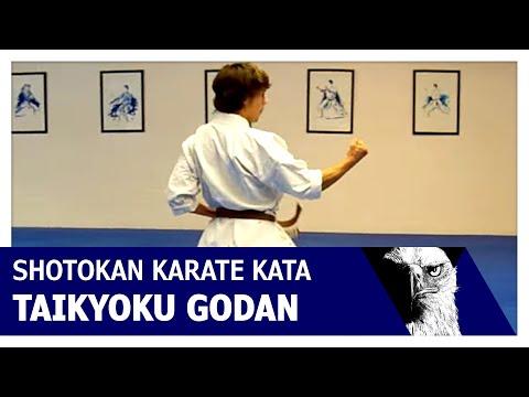 Taikyoku Godan Shotokan Karate Kata