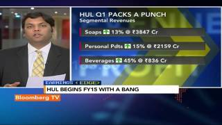 Earnings Edge- HUL Posts Stellar Q1 Earnings - BLOOMBERGUTV