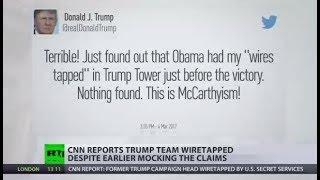 Trump Team Tapped: CNN admits FBI wiretapped aide Manafort - RUSSIATODAY
