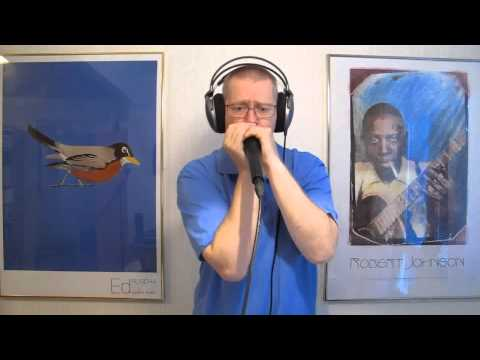 Rock Around The Clock. Bill Haley harmonica cover