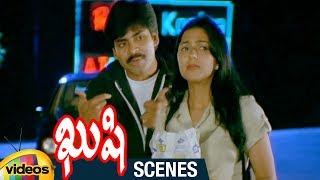 Pawan Kalyan Superb Lines about Chiranjeevi | Kushi Telugu Movie Scenes | Bhumika | Mango Videos - MANGOVIDEOS