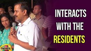 Arvind Kejriwal Interacts with Residents of Sarojini Nagar | Delhi News Updates | Mango News - MANGONEWS
