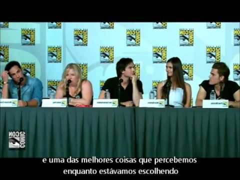 The Vampire Diaries - Comic Con 2012 - Parte 1 (Legendado)
