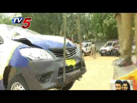 Just launched | meets accident | Police Patrolling Vehicles : TV5 News