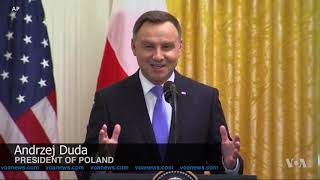 Fort Trump? Poland Invites Permanent US Base - VOAVIDEO