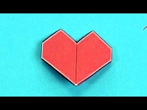 Çocuklar İçin Origami Heart (Öğretici) – Kağıttan Arkadaşlar 31