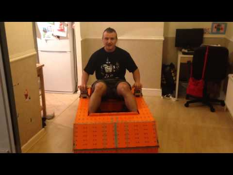 LEGO MINDSTORMS Massive ATV using Rotacaster 125mm Wheels