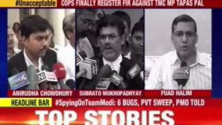 TMC defends the indefensible, says HC 'misunderstood' Tapas Pal - NEWSXLIVE