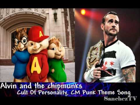Alvin And The Chipmunks  CM PUNK 2011 Theme  Song