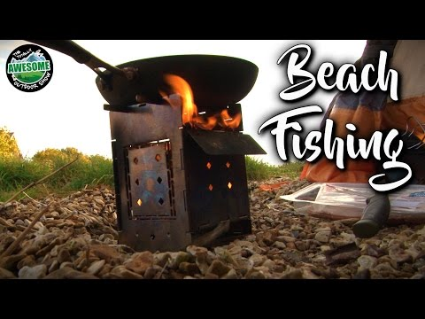 Beach Fishing and BACON!