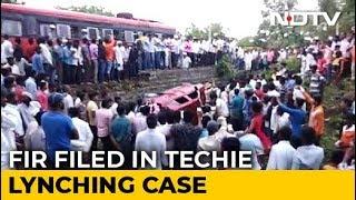 FIR On Karnataka Techie's Killing Says Mob Targetted Cops Too - NDTV