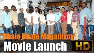 'Bhale Bhale Magadivoy' Movie Launch - IGTELUGU