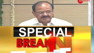 Breaking News: Venkaiah Naidu rejects Impeachment Motion against Chief Justice of India - ZEENEWS