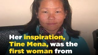 Muri Linggi becomes the third woman from Arunachal to scale Mt Everest - ABPNEWSTV