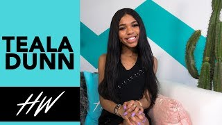 TEALA DUNN Shares her Most Embarrassing BTS Moments in Youtube Series! - HOLLYWIRETV