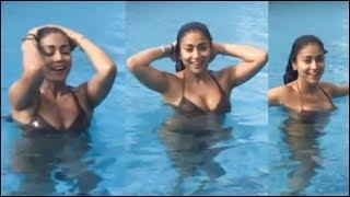 Shriya Saran Underwater Bikini H0t Shoots In Pool | Shriya Sarana Unseen Videos - RAJSHRITELUGU