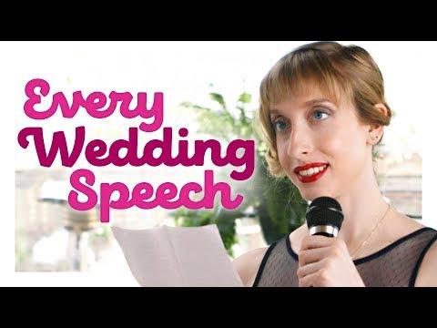 Every Wedding Speech Ever | CH Shorts - يوتيوبات
