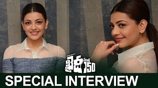 Kajal Aggarwal Special Interview About Khaidi No 150 | Kajal Chit Chat With Media | TFPC - TFPC