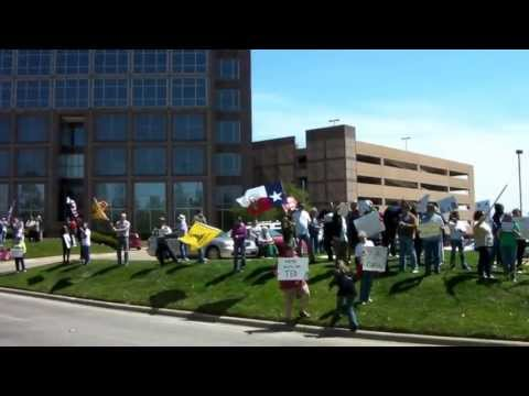 Ted Cruz Office 4/20/13 OFA vs. Tea Party