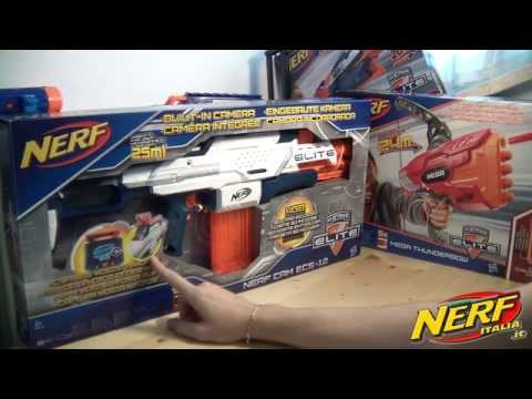 Recensione NERF Cam ECS 12 Smart Blaster www.nerfitalia.it