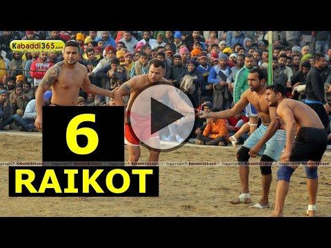 Raikot (Ludhiana) Kabaddi Tournament 24 Dec 2014 Part 6 by Kabaddi365.com