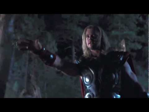 The Avengers thor vs iron man! short