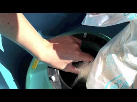 Troca da areia do filtro da piscina * Manutenção casa de maquinas