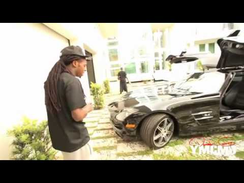 Lil Wayne PSA - Steve Jobs death, Skate Boarding, Tats, Purple Drank, CRIB 2011 Part-2