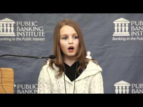 La frode della moneta-debito spiegata da una ragazzina in 6 minuti!!!