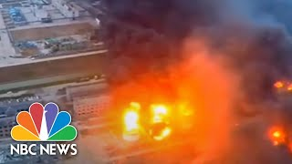 Deadly Blast Rips Through Chemical Plant In China | NBC News - NBCNEWS