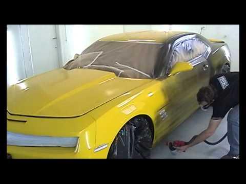 Adesivagem Líquida Camaro Amarelo OVERSIGN