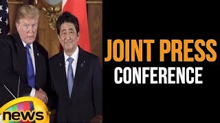 Trump Hosts a Joint Press Conference with the Prime Minister of Japan | Mango News - MANGONEWS
