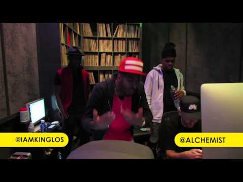 King Los - King Los Freestyles With The Alchemist