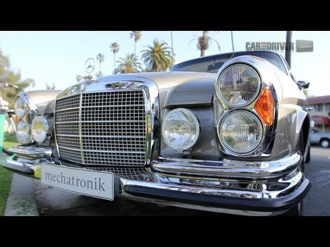 1971 Mercedes-Benz 280SE 3.5 vs. 2012 Mercedes-Benz CL63 AMG - CAR and DRIVER
