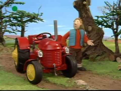 Czerwony traktorek Żegnaj Kolosie...