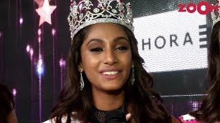 Anukreethy Vas Talks About Winning FBB Colors Femina Miss 2018 | Exclusive - ZOOMDEKHO