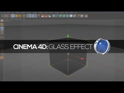 Tutorial Cinema 4D: Glass Effect (efeito vidro)