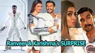 Ranveer Singh & Karishma Tanna's SURPRISE coming soon - IANSINDIA