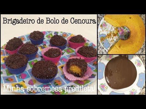 ★ Brigadeiro de bolo de cenoura = Minha sobremesa predileta!