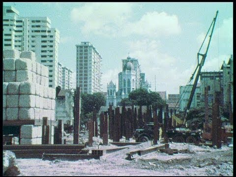 Singapore's boat quay  demolishment in 1983