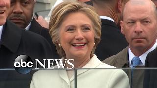 Hillary Clinton on Donald Trump's Inauguration Day - ABCNEWS