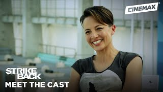 Meet the New Team: Lance Corporal Gracie Novin | Strike Back | Cinemax - CINEMAX