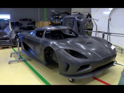 Carbon Fiber Construction - Inside Koenigsegg