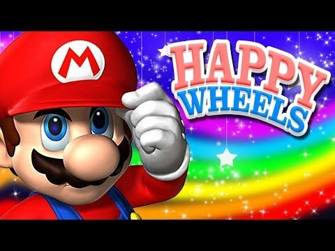 Happy Wheels: SUPER MARIO