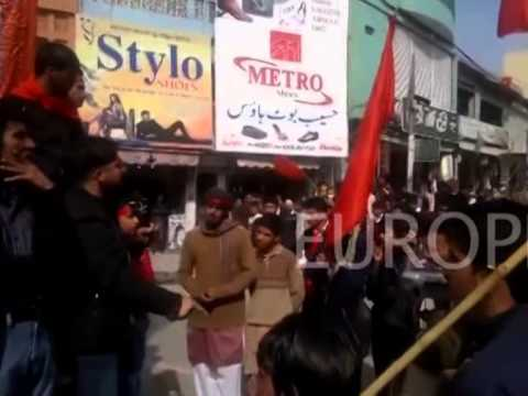 Youth in Azad Kashmir protest against oppression and exploitation by Pakistan