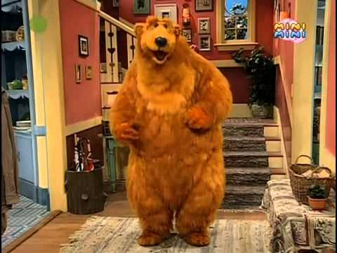 Niedźwiedź w dużym niebieskim domu - Bądźmy interaktywni