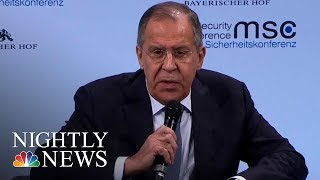 Russians Say Evidence of Election Interference is 'Blabber' | NBC Nightly News - NBCNEWS