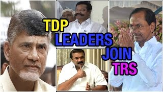 T TDP leaders Thalasani and Theegala Krishna Reddy joined in TRS party - V6NEWSTELUGU