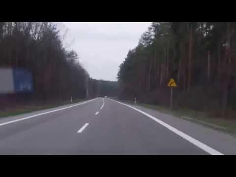 Droga strachu z Mielca do Kolbuszowej. To na niej podobno mają się pojawiać duchy dziewczynki i radzieckiego żołnierza.